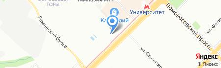 РУСГЕНКО на карте Москвы