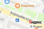 Схема проезда до компании Сеть магазинов цветов в Москве