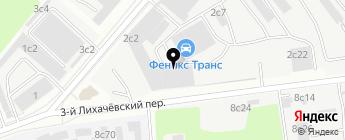 Гараж 66 на карте Москвы