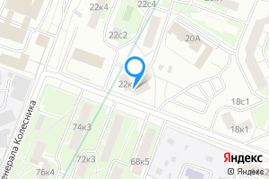 Сдается двухкомнатная квартира в Москве улица Полины Осипенко, 22к1
