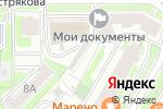Схема проезда до компании Pajero Shop в Москве