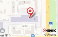 Схема проезда до компании Лицей №1 в Львовском