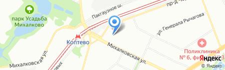 Фирма Роникс на карте Москвы