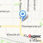 Живой хмель на карте Щёкино