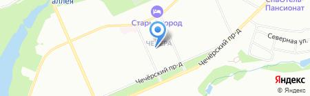 Гарантия на карте Москвы