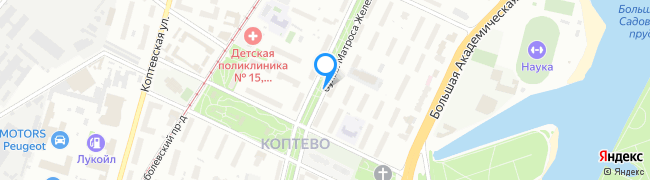 бульвар Матроса Железняка