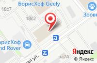 Схема проезда до компании Десяточка в Москве