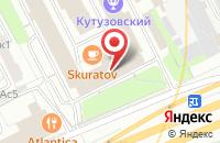 Схема проезда до компании РусСервис в Москве