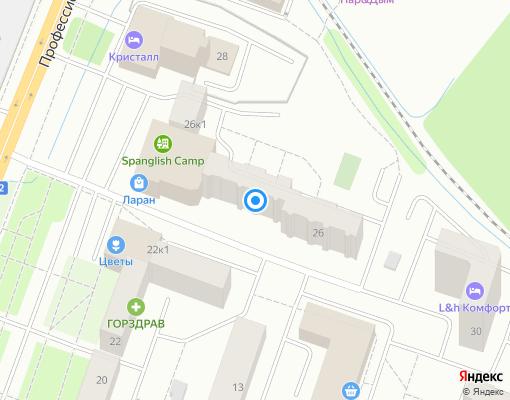 Товарищество собственников жилья «ТСЖ Гарант» на карте Дмитрова