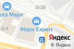Схема проезда до компании Лексус–Сити в Москве