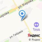 Киоск хлебобулочных изделий на карте Подольска