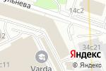 Схема проезда до компании Мотив в Москве