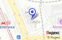 Схема проезда до компании ЮЛОРА в Москве