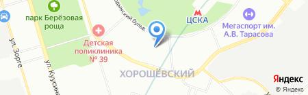 Международная школа на карте Москвы
