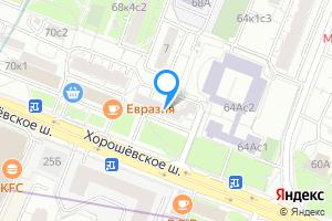 Сдается однокомнатная квартира в Москве Хорошёвское ш., 66