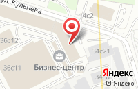 Схема проезда до компании Арбен Фабрикс в Москве