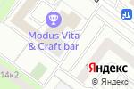Схема проезда до компании ВЕЛОМОТО в Москве