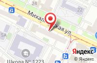 Схема проезда до компании Эллара в Москве