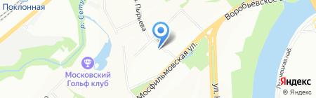 Режиссер на карте Москвы