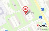 Схема проезда до компании Рем-Сервис в Подольске