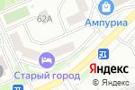 Схема проезда до компании Ева в Москве