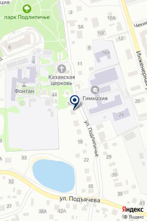 ХРАМ КАЗАНСКОЙ ИКОНЫ БОЖИЕЙ МАТЕРИ на карте Дмитрова