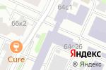 Схема проезда до компании Международная ассоциация автомобильного и дорожного образования в Москве