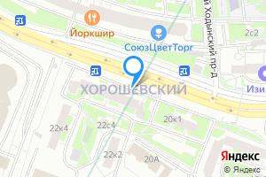 Снять двухкомнатную квартиру в Москве Северный административный округ, Хорошёвский район