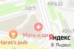 Схема проезда до компании Эвола в Москве