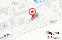 Схема проезда до компании Инжспецстрой в Москве