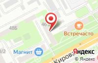 Схема проезда до компании Аргумент в Подольске