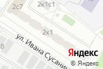 Схема проезда до компании ИТ-ГРУПП в Москве