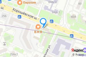 Снять комнату в двухкомнатной квартире в Москве Хорошёвское шоссе, 23к1