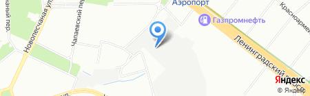 Автодопсервис на карте Москвы