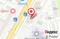Схема проезда до компании Эко в Москве