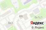 Схема проезда до компании Хорда в Москве
