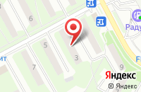 Схема проезда до компании Юпн-Медиа в Подольске