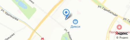 Эконом-Класс на карте Москвы