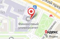 Схема проезда до компании Национальное Общество Актуариев в Москве