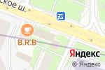 Схема проезда до компании Букетный двор в Москве