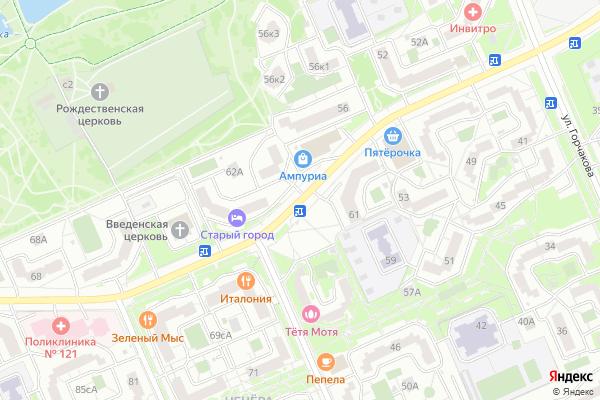 Ремонт телевизоров Улица Южнобутовская на яндекс карте