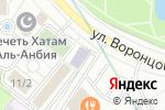Схема проезда до компании Иранская средняя общеобразовательная школа в Москве