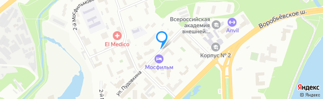 улица Пудовкина