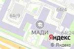Схема проезда до компании AVS Turbo в Москве