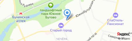 Мир серебра на карте Москвы