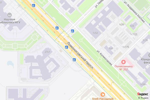 Ремонт телевизоров Ломоносовский проспект на яндекс карте