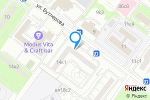 Сдается трехкомнатная квартира в Москве м. Калужская, улица Бутлерова, 14к1, подъезд 4