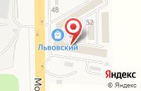 Схема проезда до компании Магазин строительных материалов в Львовском