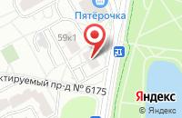 Схема проезда до компании Тайра в Москве