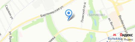 Эксперт управления предприятием на карте Москвы